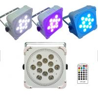 Quality Ultra Bright Wireless Par Cans Lights , Remote Controlled Wireless Led Lights for sale