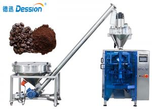 China High Productivity Coffee Powder Filling Packing Machine With PLC Control In Hot Seal on sale