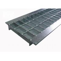 China Twisted Bar Steel Grating Drain Cover Bearing Bar Pitch 30mm Free Sample on sale