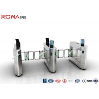 Quality Face Recognition Speed Gate Turnstile Access Control System 30 Persons / Min for sale