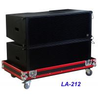 Buy cheap LA-212 Line Array Speaker 3 way 1560W High Power Dynamic , Clarity for Big from wholesalers