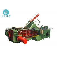 Quality Mobile Scrap Metal Baler Machine Hydraulic Large Scale 650*650mm Max for sale