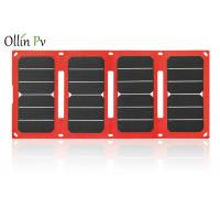 Buy cheap Commercial Solar Charger Bag 28W Solar Fast Charging Dimension 675*302*2mm from wholesalers