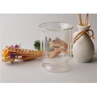 Buy Tea Double Wall Borosilicate Glass , Double Layer Glass Cup Refillable at wholesale prices