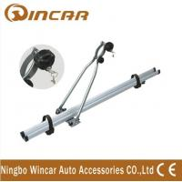 Quality 4wd automobile upright Aluminium roof bike carrier for locking up 1 bicycle for sale