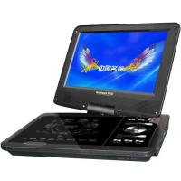 Quality 9 inch portable dvd player low price with multi-functions black color for sale