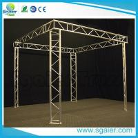 Quality Exhibit Booth Tv Aluminum Truss Display Durable With Ladder Easy Transport for sale