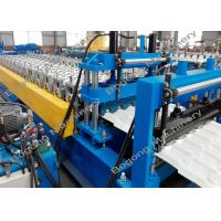Quality Color Steel Roof Tile Roll Forming Machine 7.5KW Driving Motor For Construction for sale