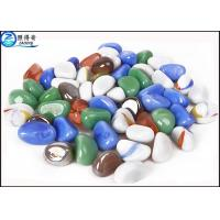 Quality OEM Natural Color Fish Aquarium Gravel / Fish Tank Stone For House Decorations for sale