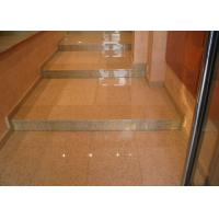 Quality Rusty Yellow Polished Stone Entry Steps , G682 Sunset Granite Front Door Steps for sale