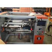 Quality Small Aluminium Foil Rewinder Machine For Kicthen / Household Foil Roll Rewinding for sale