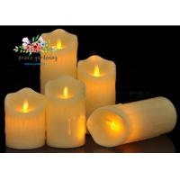 Quality Plastic Material LED Candle Light Battery Operated For Wedding , Night Club for sale