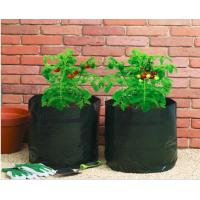 Quality Garden Potato Garden Plant Accessories PE Fabric Reusable Vegetable , Round small Grow Bag for sale