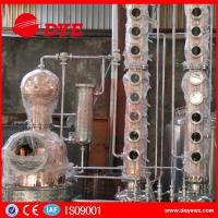 Quality Home Copper Alcohol Still Copper Whiskey Stills Customized 200kg--50000kg for sale