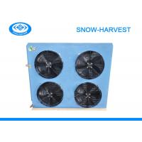 Quality Cold Room Air Cooled Condenser Corrosion Resistant Surface Freezer Condenser for sale