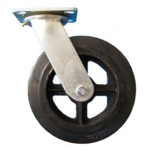 Quality Moldon Rubber Swivel Heavy Duty Castor for sale