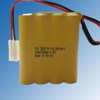 China AA 4.8V 700mAh Ni-cd rechargeable battery pack on sale