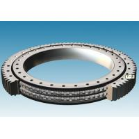 Quality Single Row Slewing Ring Bearings of External Gear For Larger Rotary Devices for sale