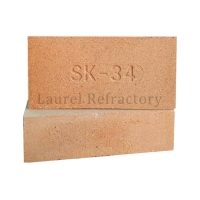 Quality Surface Porosity 24-27% Custom Size Refractory Brick for sale