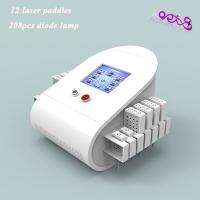 Quality Dual Wave Length Laser Liposuction Slimming Machine 208 Mitsubishi Diodes 100MW Lipolaser for sale
