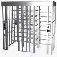 China Bar Code / Bimetric Full Height Door All In One System Indoor Entrance Gate RS485 on sale