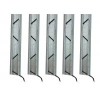 Quality Galvanized Steel Greenhouse Accessories , Lock Channel For Greenhouse Sidewall Film for sale