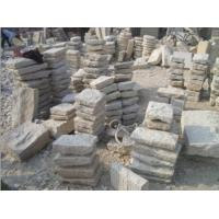 Quality Natural Red Flamed Lanscaping Granite Curbstones for Street for sale