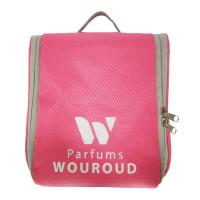 Quality Multifunction Pink Portable Waterproof Travel Toiletry Bag Large Capacity for sale