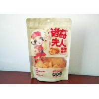 Quality Fried Food Bag Transparent Window Snack Food Packaging Bags Standing Bottom Standing for sale