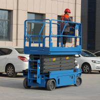 Buy cheap Proportional Control Movable Scissor Lift Industrial With 10m Lifting Height from wholesalers