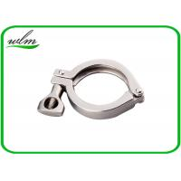 Quality Hygienic Heavy Duty Pipe Clamps DIN ISO 3A SMS Standard With Highly Sealing for sale