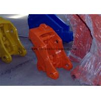 China Professional Mini Digger Quick Hitch , Excavator Bucket Quick Coupler Wearable on sale