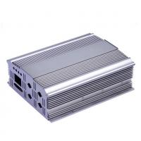 Quality Silvery Polishing Aluminium Extrusion Profiles Aluminum Cover for sale