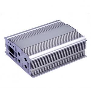 Quality Silvery Polishing Aluminium Extrusion Profiles Aluminum Cover for sale