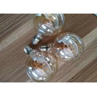 Quality G125 8w Led Filament Bulb Triac Dimmable 100lm / W Avoiding Short Circuit for sale