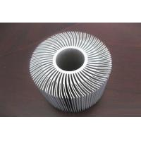 Buy cheap Silver Anodized Aluminum Extrusions Shapes Use For Alumiunm Heat Sink from wholesalers