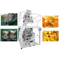 Quality Automatic Chips Packing Machine , 20 - 500g / Bag Multihead Packing Machine for sale