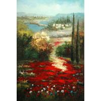 Quality landscape painting unframe painting for sale