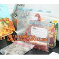 Buy cheap Large Ziplock Resealable Zipper Jumbo size Plastic Storage poly Bags with white block to label, Double tracking ziplock from wholesalers