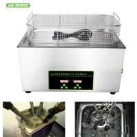 China Small Ultrasonic Medical Instrument Cleaner For Diesel Injectors Cleaning Machines on sale