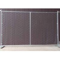 Quality Square / Round Temporary Chain Link Fence For Construction Sites 6' H X 10' L for sale