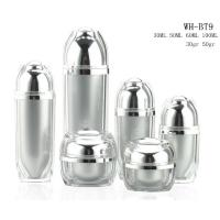 Buy new design 30ml 50ml 60ml 100ml plastic cosmetic acrylic serum lotion pump  bottle at wholesale prices