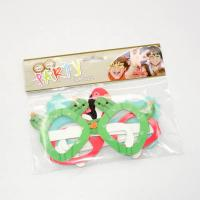 Quality Colored Paper Eye Mask Festival Party Decorations Animal Design Paper Party Glasses for sale