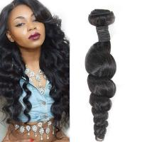 Buy Long-Lasting Real Virgin Brazilian Loose Wave Hair For Black Women at wholesale prices