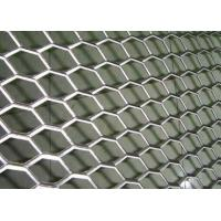 Quality Rhombus Hole Expanded Metal Mesh Hot Dipped Galvanized Surface Thickness 4mm for sale