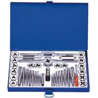 Quality Professional Metric 40PCS Tap and Die Sets with HSS , Alloy steel , Carbon Steel for sale