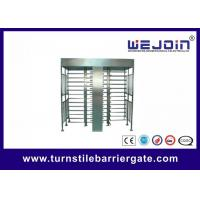 Quality IC , ID , magcard , bar code Full Height Turnstile security systems for sale