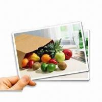 Quality Magnetic Inkjet Printing Paper, Available in Vivid Colors, Smudge-proof and Waterproof for sale
