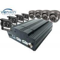 Quality Fuel Tank Monitoring 3G / 4G GPS Wifi 8ch Mobile DVR , HDD SSD MDVR With Cameras for sale