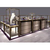 Buy Non - Toxic Materials Jewelry Showcase Kiosk Hidden Various Colors LED Strip at wholesale prices